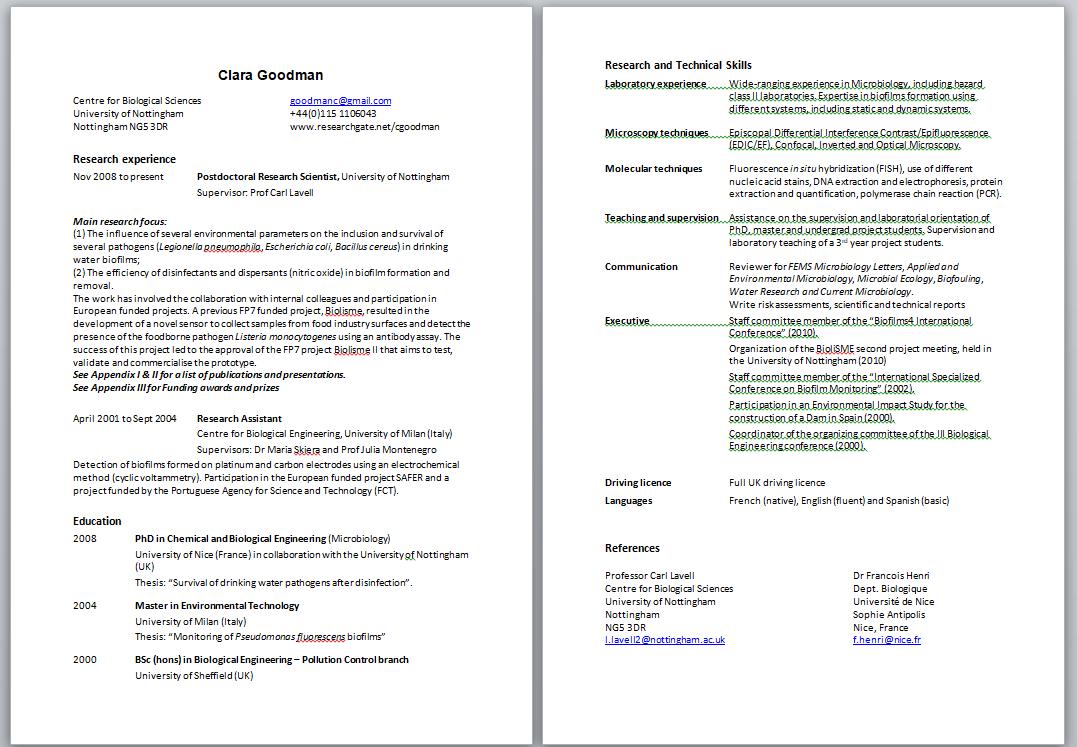 BioScience Careers – Page 2